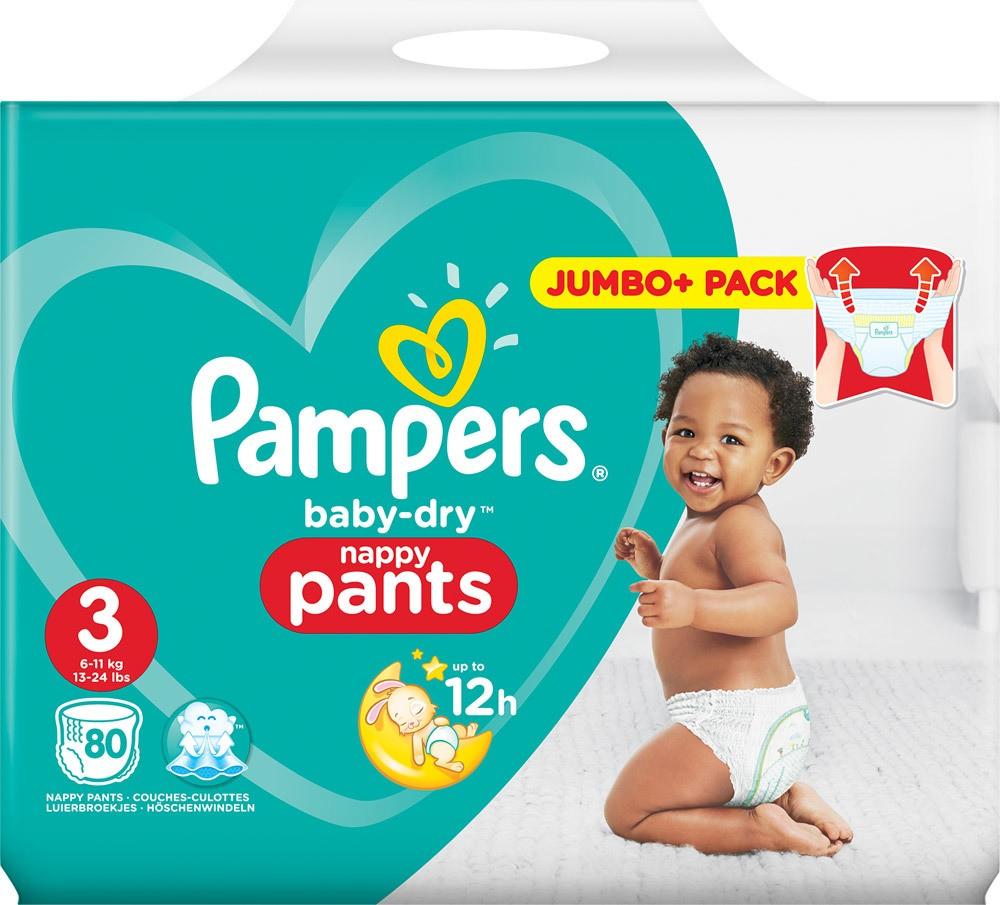 pampers baby dry pants 3 4 5 6 hier online. Black Bedroom Furniture Sets. Home Design Ideas