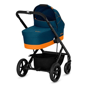 Cybex Kombikinderwagen in blau und orange