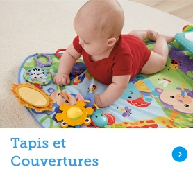 Tapis et Couvertures fisher price