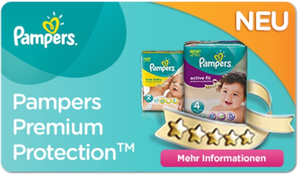 Pampers Premium Protection™