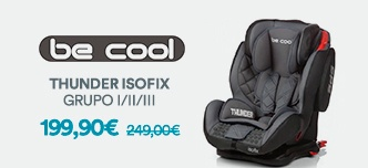 cadeira de auto Thunder Isofix Be Cool