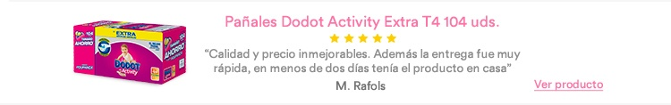 Opinión Dodot Activity