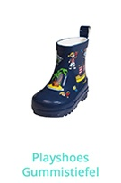 Playshoes Gummistiefel Allover-Piraten