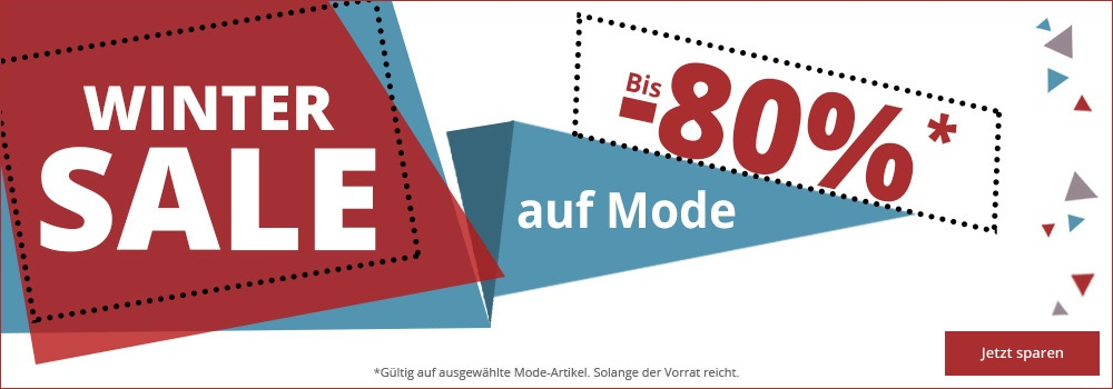 Winter Sale bis -80%
