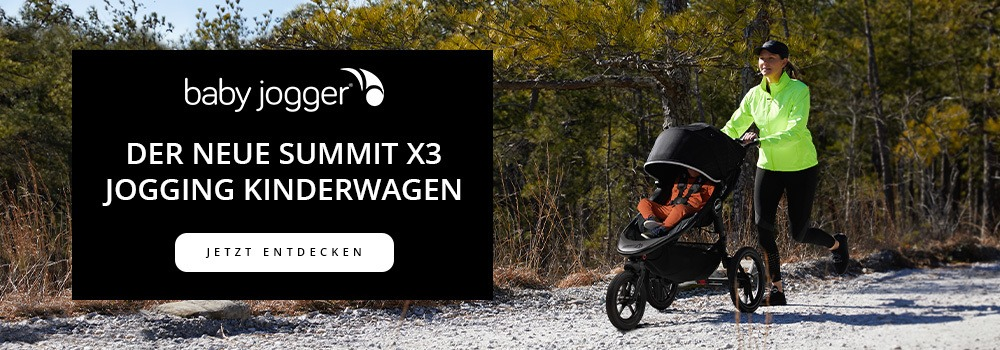 Der neue Summit X3 Jogging Kinderwagen