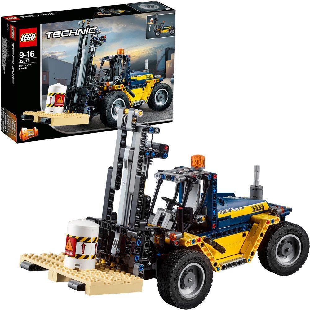 lego technic 42079 schwerlast gabelstapler lego. Black Bedroom Furniture Sets. Home Design Ideas