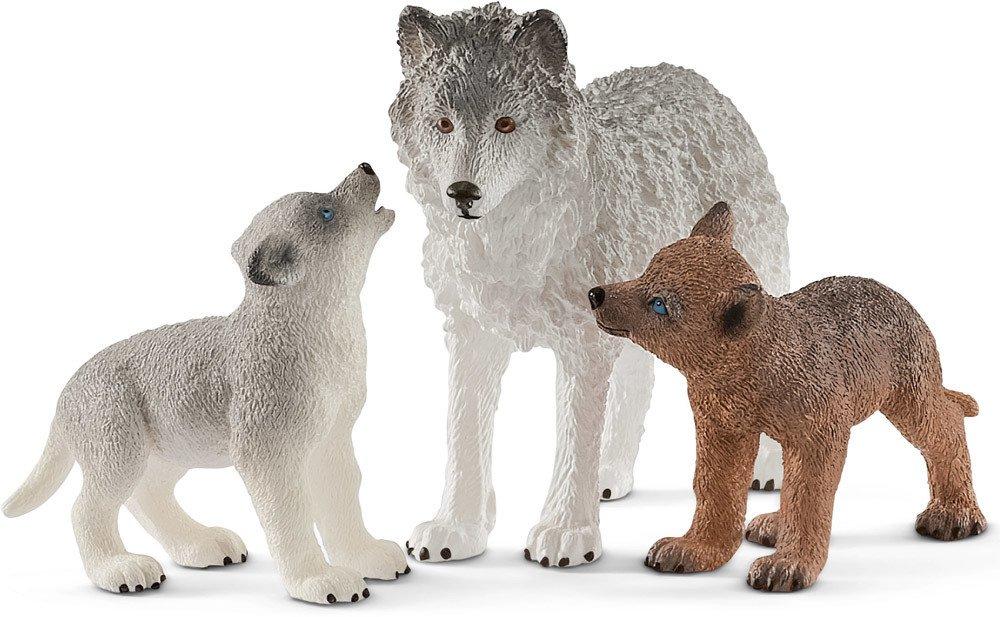 Schleich Wolfsmutter mit Welpen   Schleich - Jetzt online kaufen