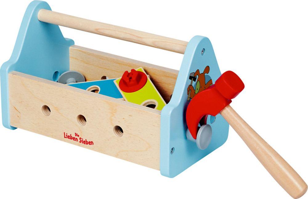 Die Spiegelburg - Die Lieben Sieben Werkzeugkasten   Kinderwerkzeug - Jetzt online kaufen
