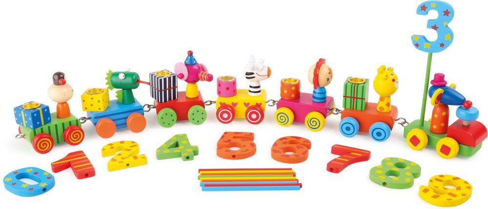 Small foot® Geburtstagszug Tierparty   Spielzeug-Zug - Jetzt online kaufen