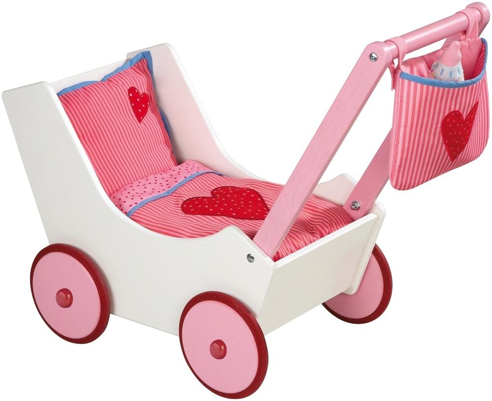 haba puppenwagen mit tasche und nuckelflasche puppenwagen jetzt online kaufen. Black Bedroom Furniture Sets. Home Design Ideas