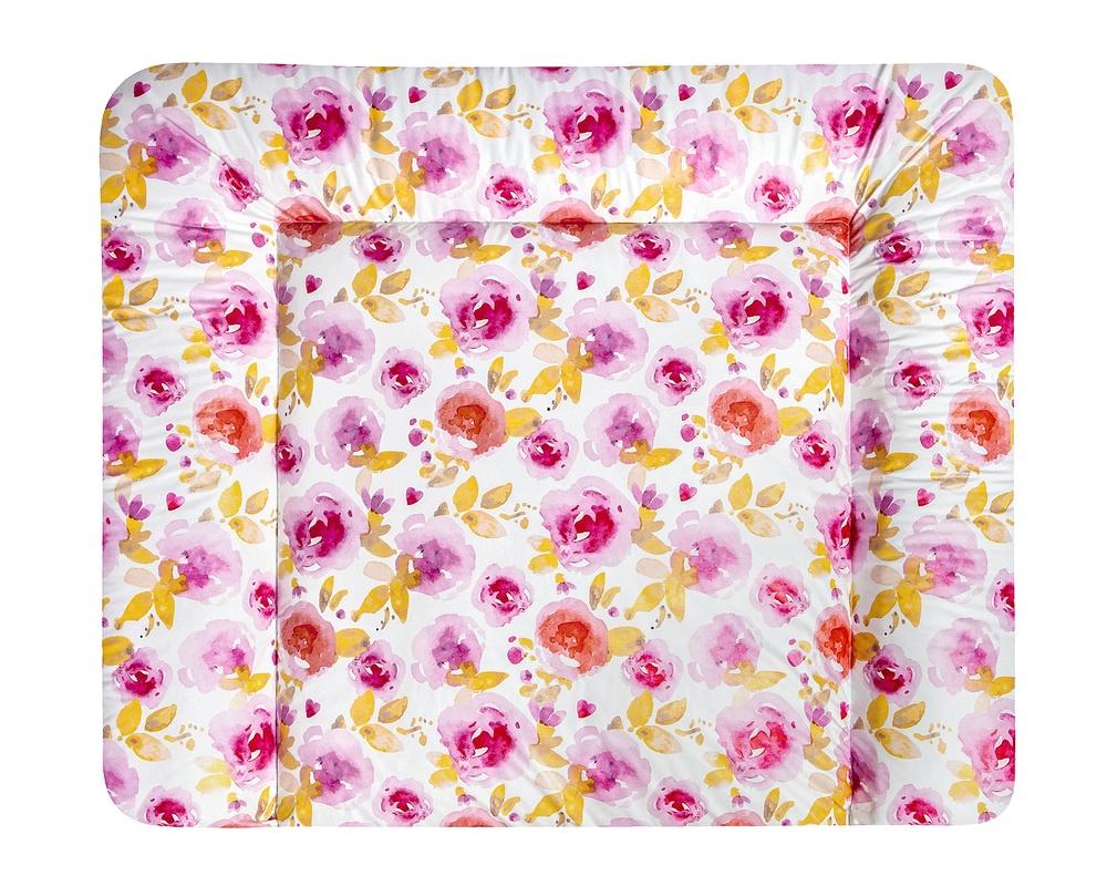 julius z llner wickelauflage softy rosen wickeltischauflage jetzt online kaufen. Black Bedroom Furniture Sets. Home Design Ideas