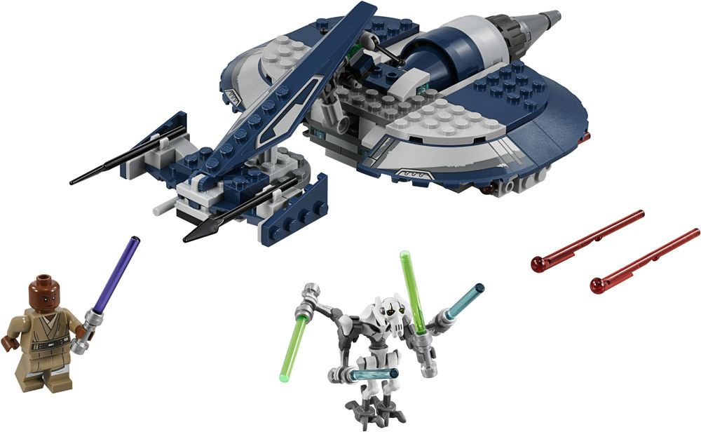 lego star wars general grievous combat speeder lego jetzt online kaufen. Black Bedroom Furniture Sets. Home Design Ideas