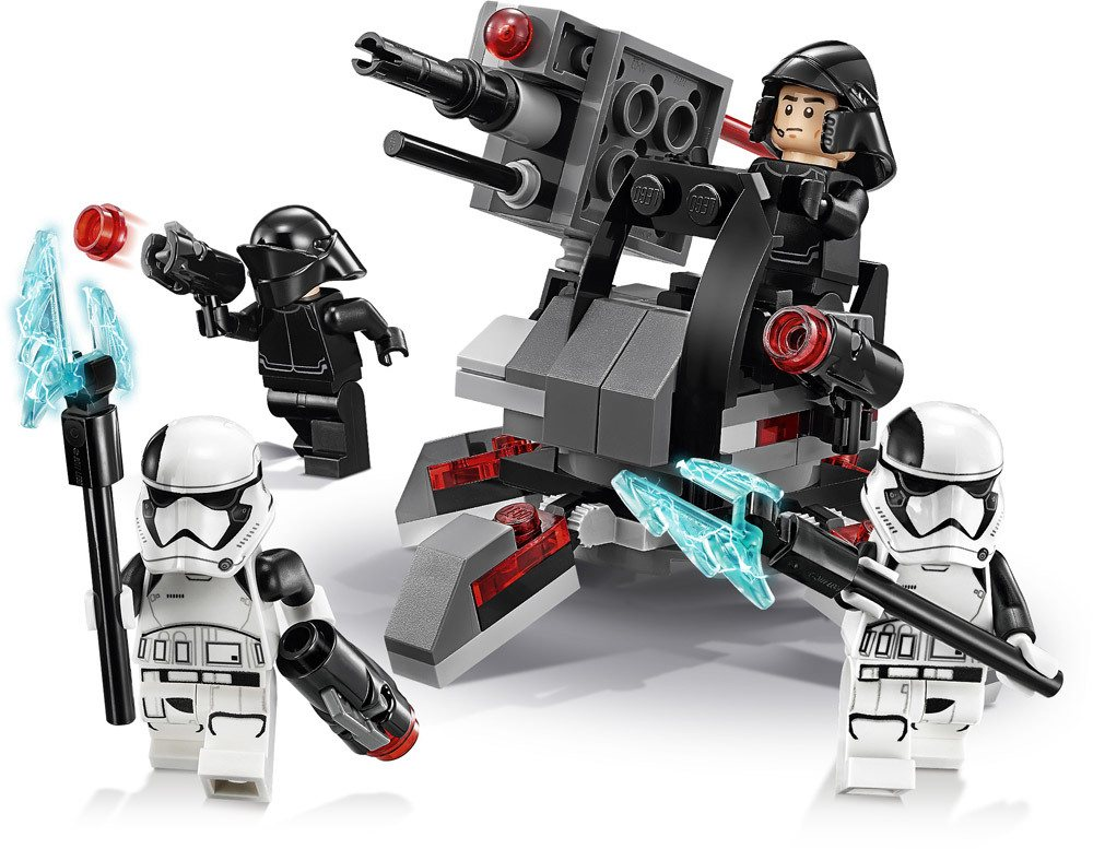 lego star wars first order specialists battle lego. Black Bedroom Furniture Sets. Home Design Ideas