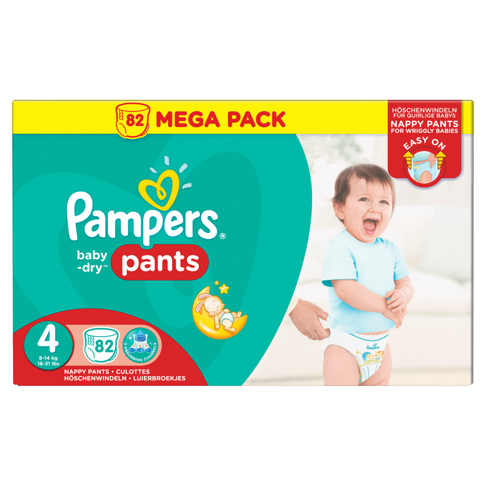 Couches pampers baby dry pants t5 11 18 kg 36u couches - Carrefour couches pampers ...