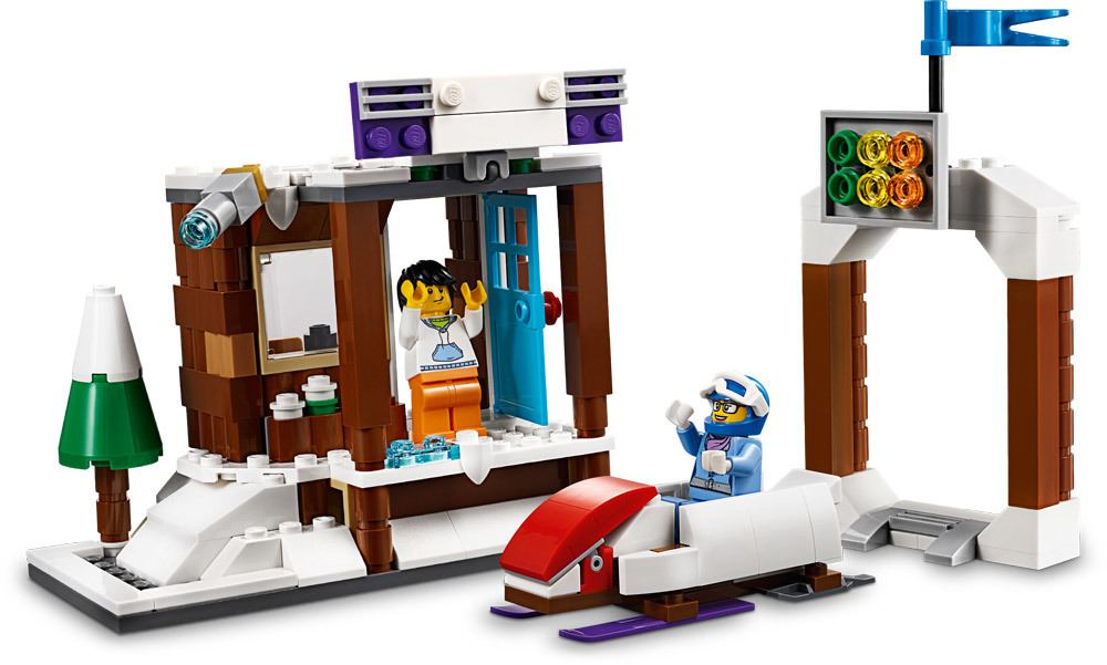 lego creator modulares wintersportparadies lego jetzt online kaufen. Black Bedroom Furniture Sets. Home Design Ideas