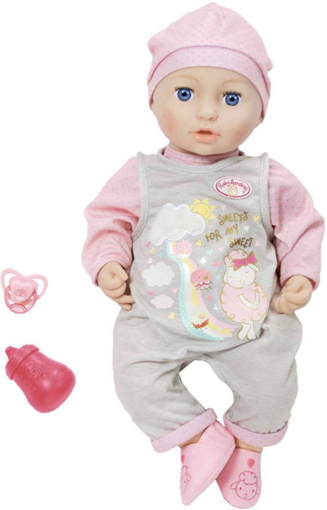 Zapf Creation Baby Annabell 174 Mia So Soft 187 Stoffpuppen