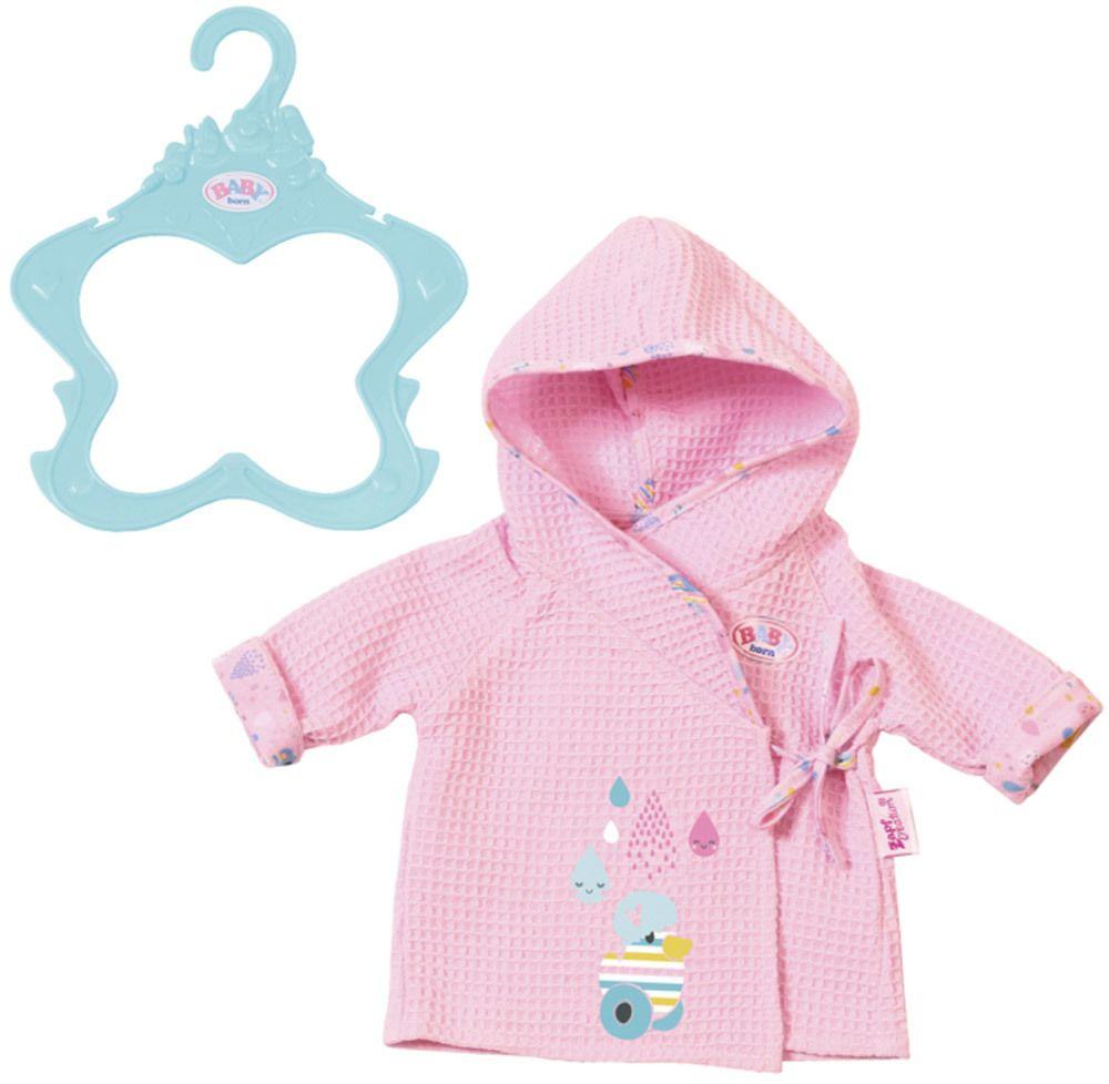 Zapf Creation Baby Born 174 Bademantel 187 Puppenkleidung