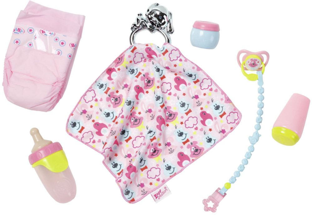 Zapf Creation Baby Born 174 Accessoires Set 187 Puppenkleidung