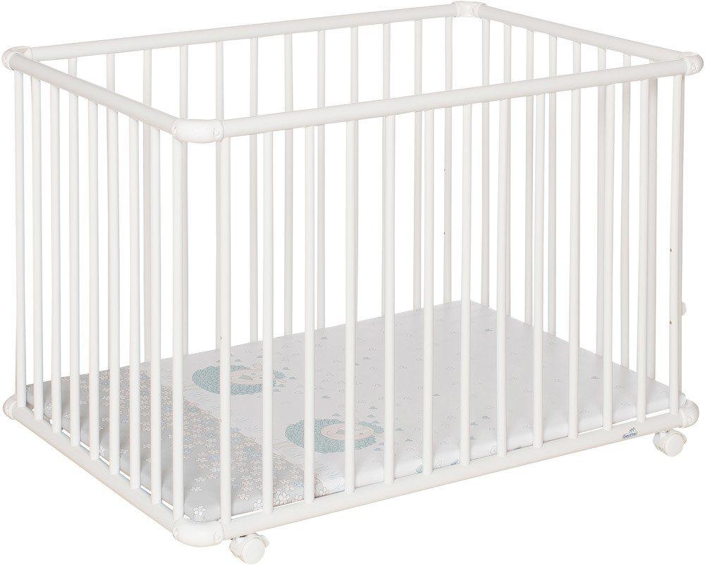geuther laufgitter belami plus rechteckig laufgitter jetzt online kaufen. Black Bedroom Furniture Sets. Home Design Ideas