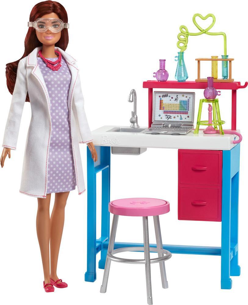 Barbie Berufe Spielset Labor » Barbiepuppen - Jetzt online kaufen |  windeln.de