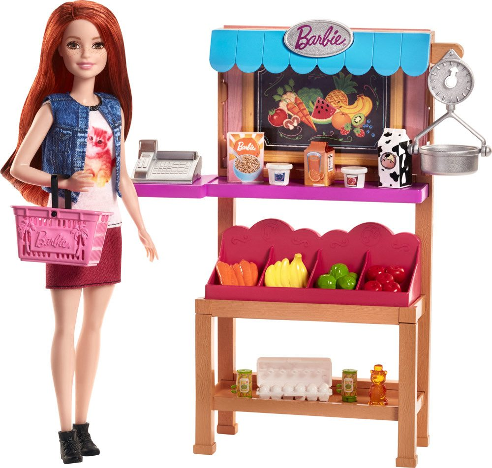 Barbie Berufe Spielset Marktstand » Barbiepuppen - Jetzt online ...