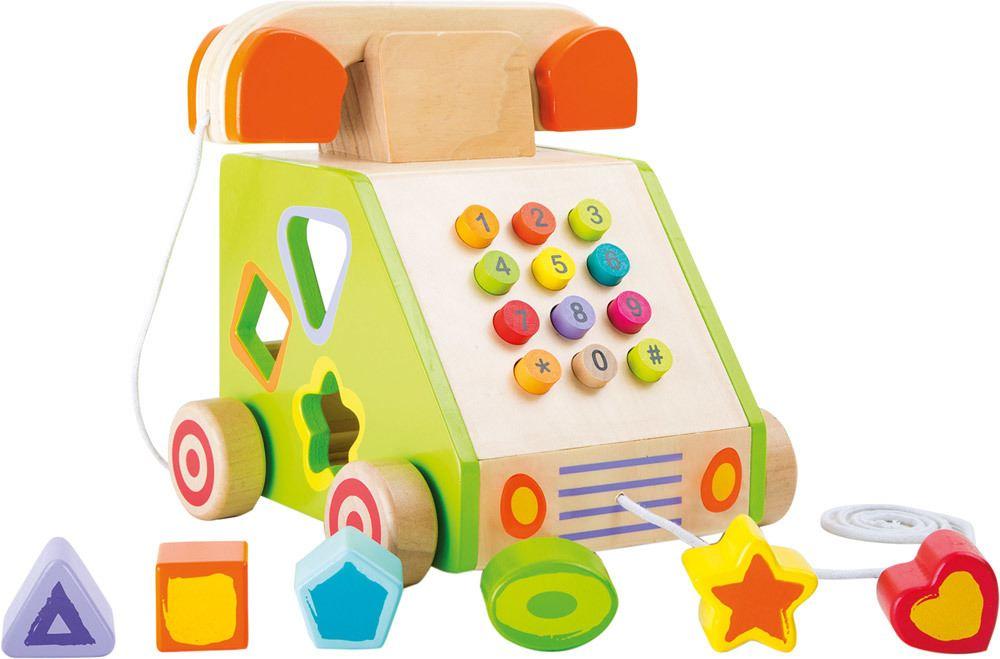 """Small foot® Zieh- und Motorikspielzeug """"Telefon""""   Weiteres Holzspielzeug - Jetzt online kaufen"""