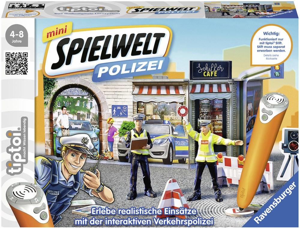 Ravensburger tiptoi Spielwelt mini Polizei: Verkehrspolizei   Bilderbücher - Jetzt online kaufen