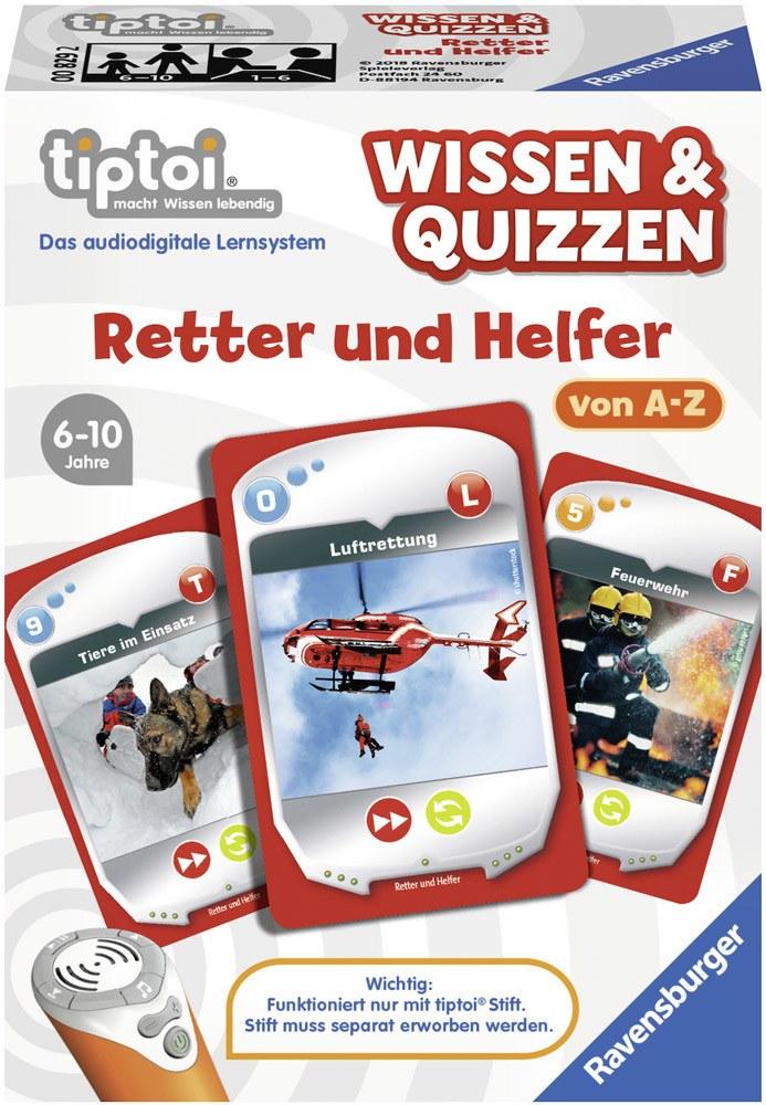 Ravensburger tiptoi Wissen & Quizzen: Retter und Helfer   Bilderbücher - Jetzt online kaufen