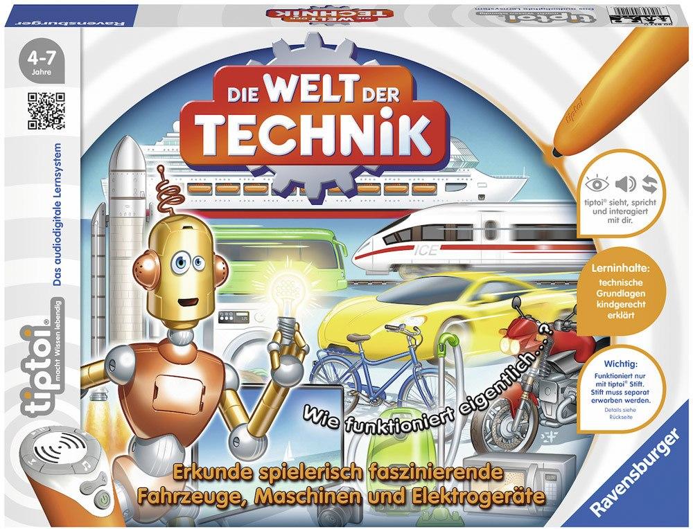 Ravensburger tiptoi Spiele Die Welt der Technik   Bilderbücher - Jetzt online kaufen