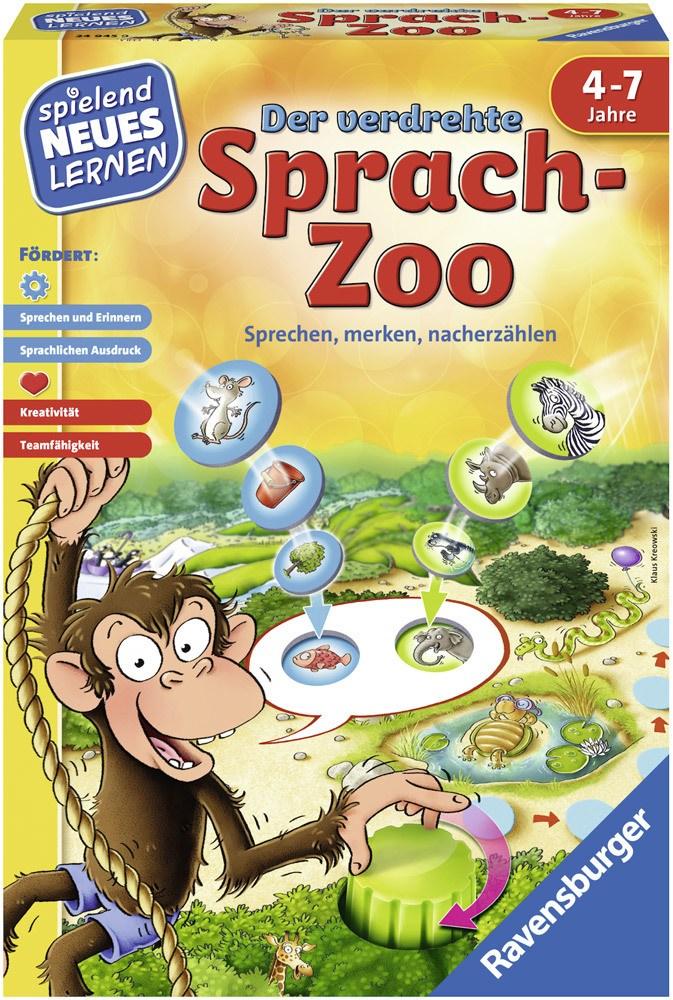 Ravensburger Spielen und Lernen Der verdrehte Sprach-Zoo   Brettspiele - Jetzt online kaufen