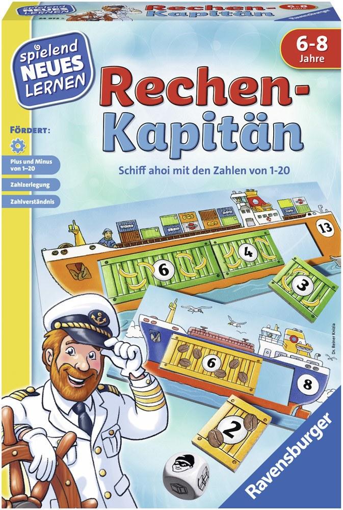 Ravensburger Spielen und Lernen Rechen-Kapitän   Brettspiele - Jetzt online kaufen
