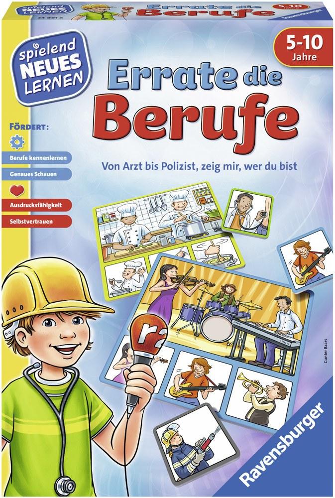 Ravensburger Spielen und Lernen Errate die Berufe   Brettspiele - Jetzt online kaufen