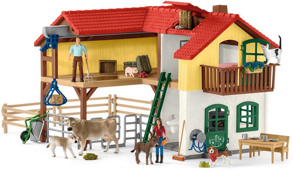 Schleich Bauernhaus mit Stall und Tieren   Schleich - Jetzt online kaufen