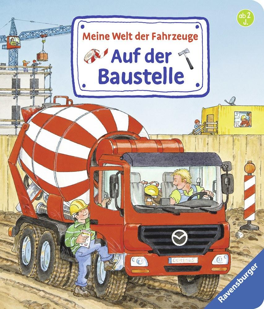 Ravensburger Meine Welt der Fahrzeuge: Auf der Baustelle   Bilderbücher - Jetzt online kaufen