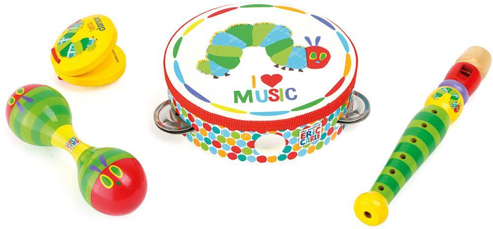 Small foot® Raupe Nimmersatt Musik-Set   Musikspielzeug - Jetzt online kaufen