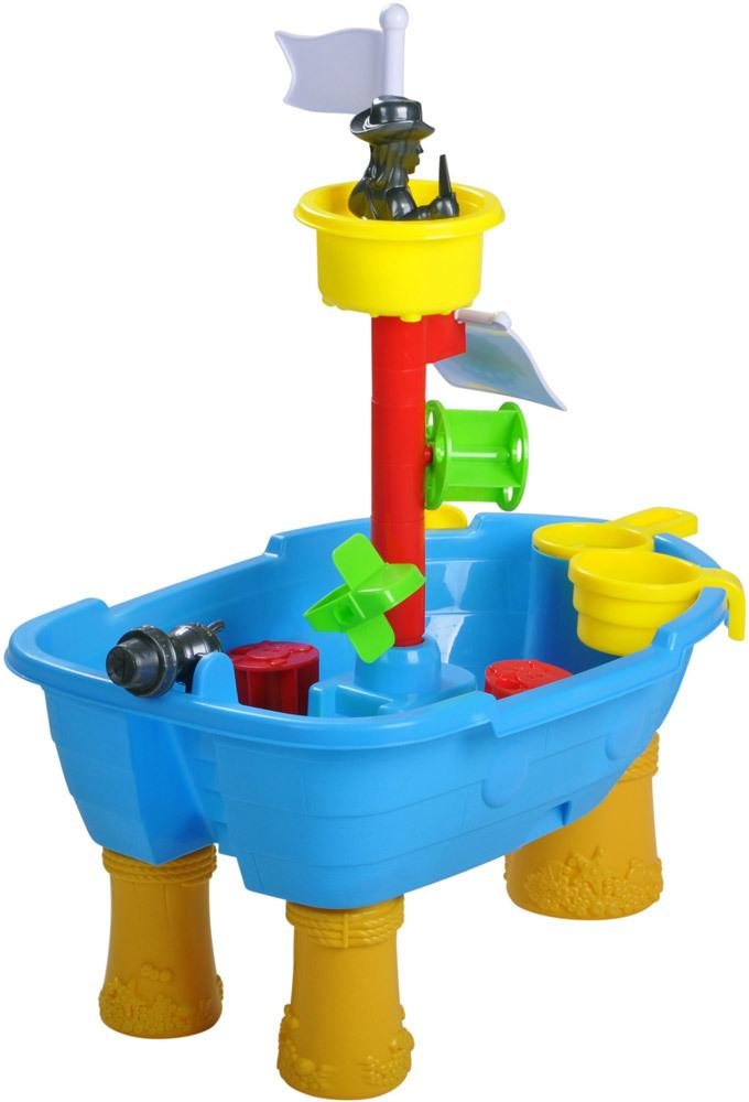 knorrtoys sand und wassertisch piratenschiff kinder gartenm bel jetzt online kaufen. Black Bedroom Furniture Sets. Home Design Ideas