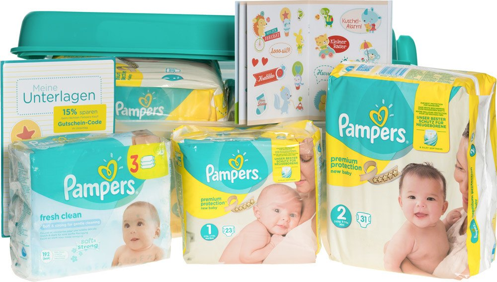 pampers vorteilsbox premium protection gr 1 2 babywindeln jetzt online kaufen. Black Bedroom Furniture Sets. Home Design Ideas