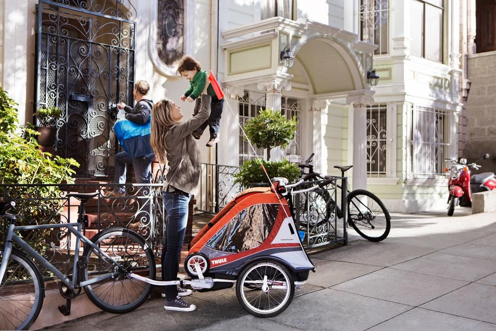thule chariot captain 2 sitzer 2 sitzer jetzt online. Black Bedroom Furniture Sets. Home Design Ideas
