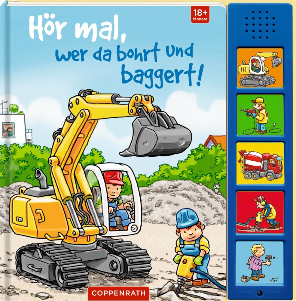 Coppenrath Hör mal, wer da bohrt und baggert!   Spielbücher - Jetzt online kaufen