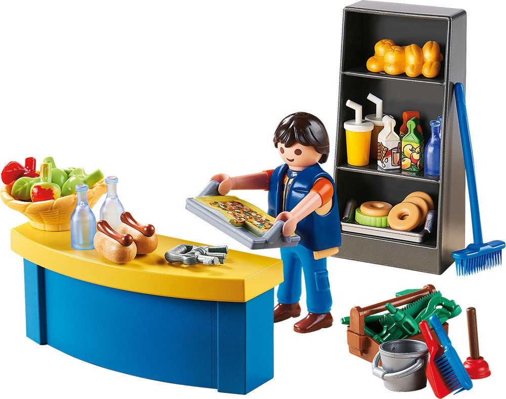 PLAYMOBIL® City Life - 9457 - Hausmeister mit Kiosk   Spielsets - Jetzt online kaufen