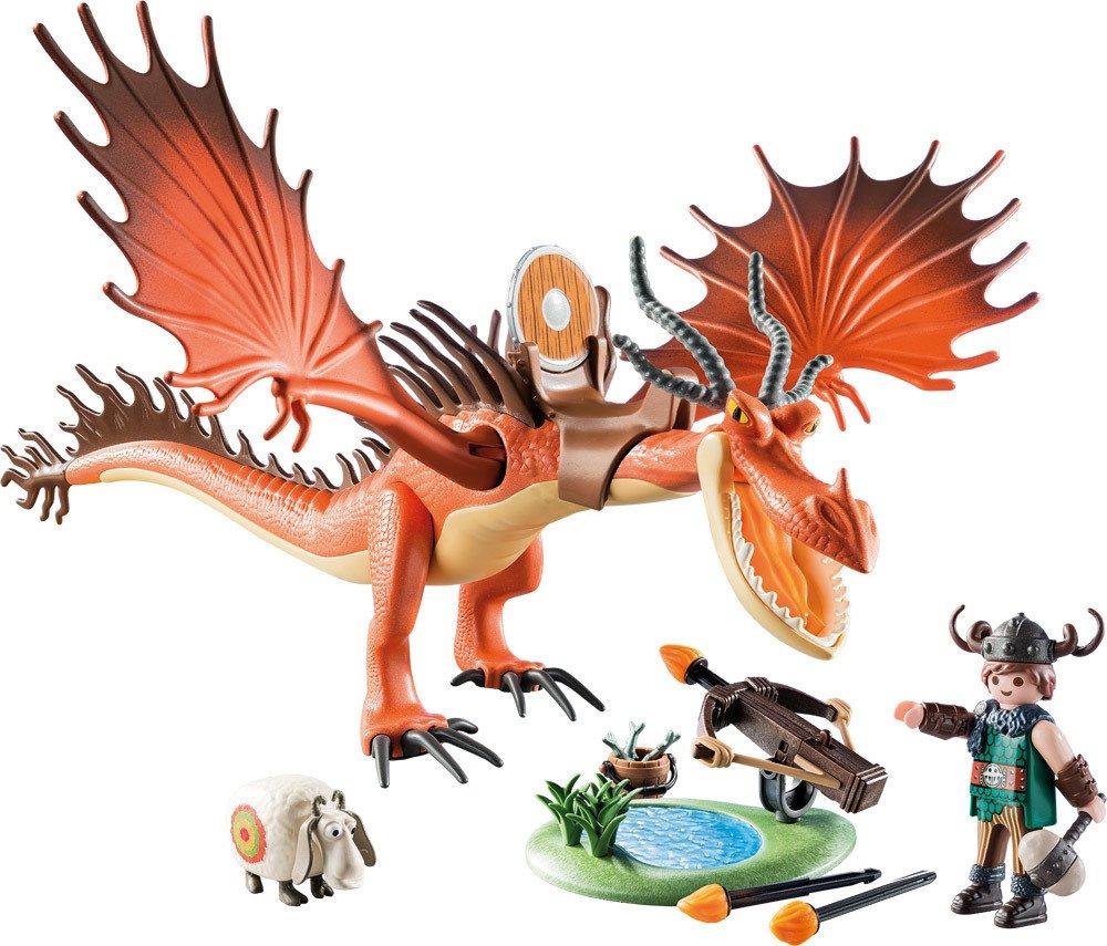 Playmobil Dragons 9459 Rotzbakke Und Hakenzahn Spielsets Jetzt Online Kaufen Windelnde