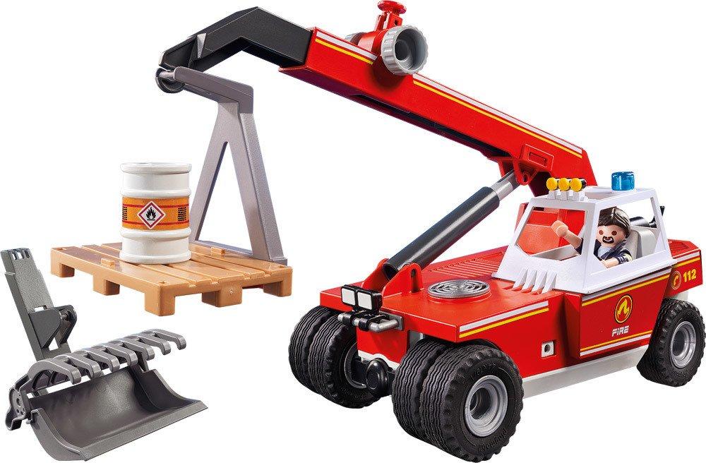 PLAYMOBIL® City Action - 9465 - Feuerwehr-Teleskoplader   Spielsets - Jetzt online kaufen