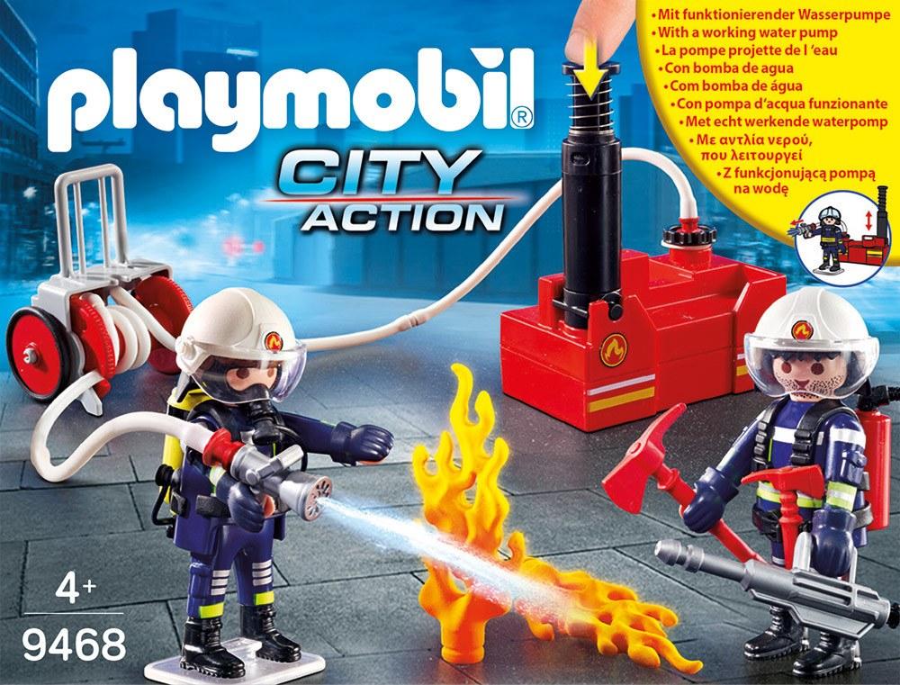 PLAYMOBIL® Christmas - 9468 - Feuerwehrmänner mit Löschpumpe Löschpumpe mit   Spielsets - Jetzt online kaufen 778fe0