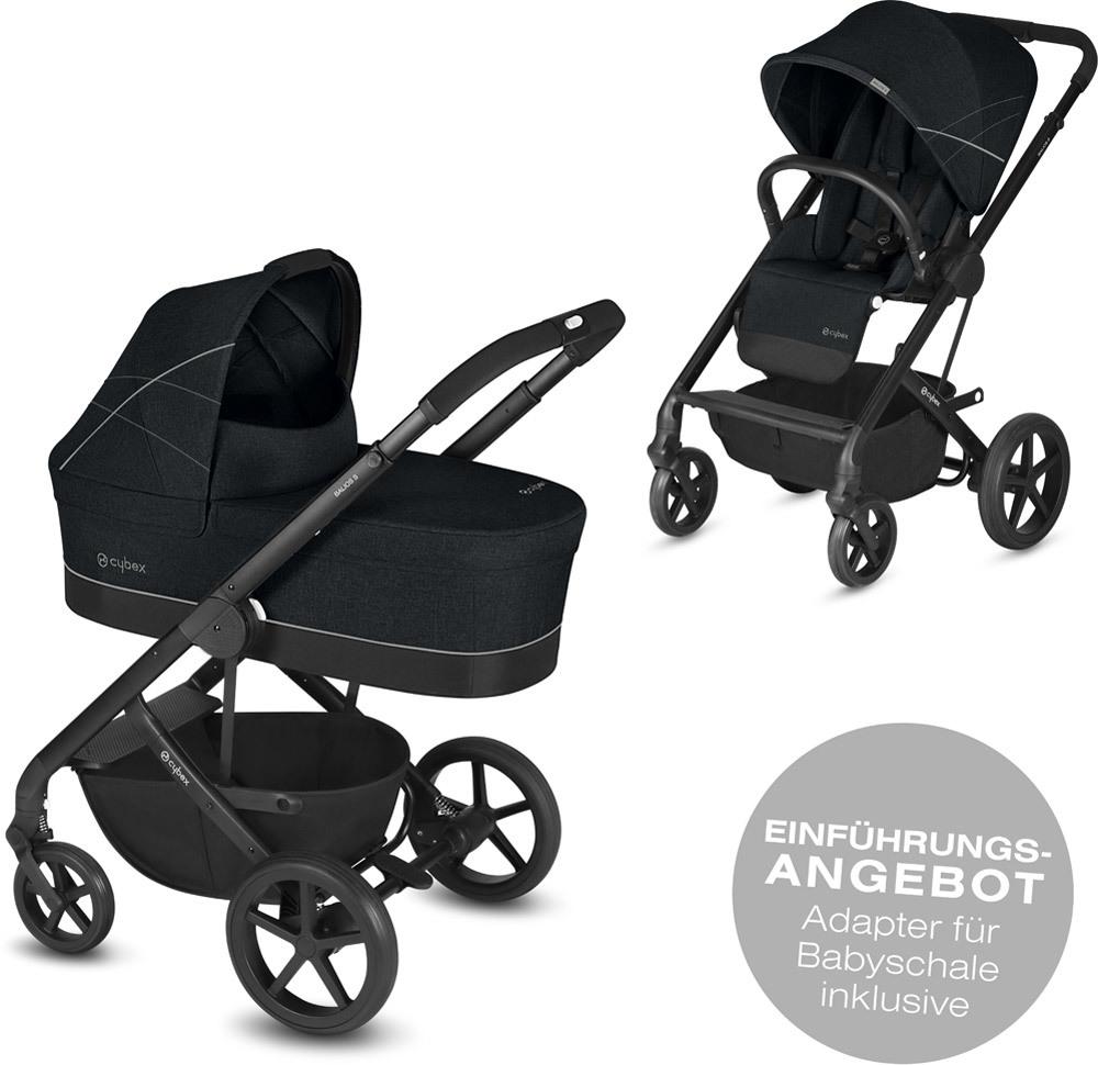 cybex kinderwagen balios s inkl babywanne kinderwagen set jetzt online kaufen. Black Bedroom Furniture Sets. Home Design Ideas