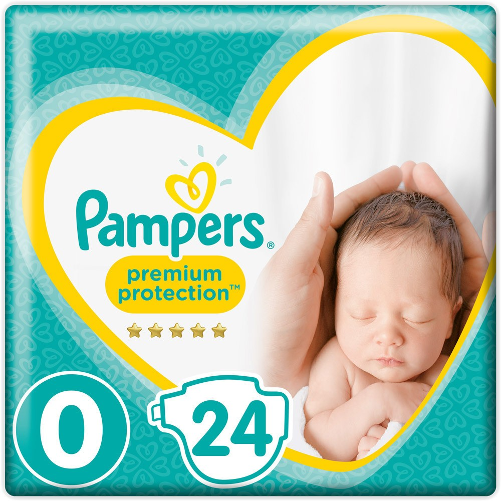 pampers premium protection micro gr e 0 babywindeln jetzt online kaufen. Black Bedroom Furniture Sets. Home Design Ideas