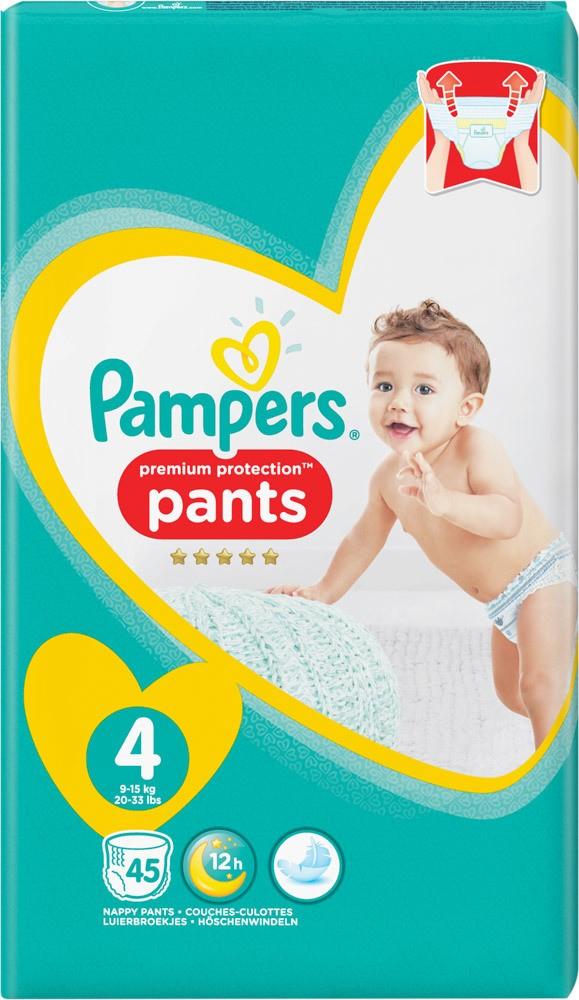 pampers premium protection pants 4 5 6 jetzt online. Black Bedroom Furniture Sets. Home Design Ideas