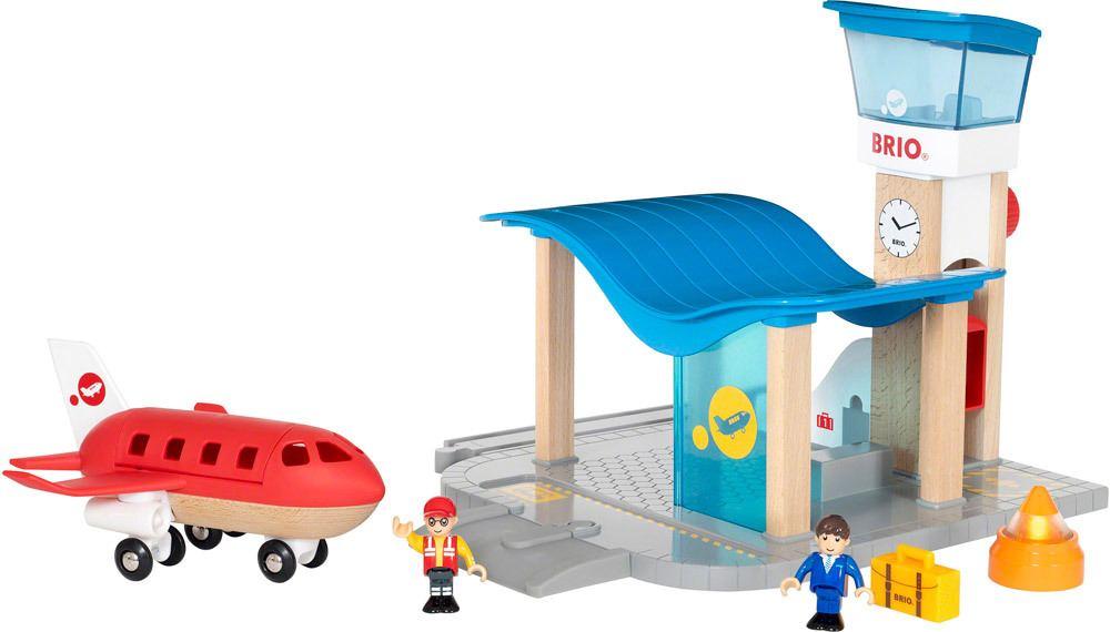 BRIO Flughafen mit Tower   Holzbausteine - Jetzt online kaufen