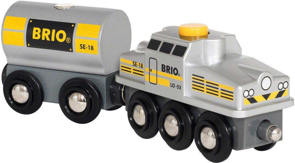 BRIO Silberner Frachtzug   Holzeisenbahn - Jetzt online kaufen