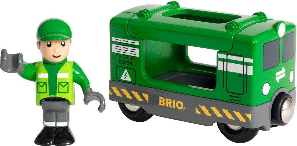 BRIO Frachtlok mit Fahrer   Holzeisenbahn - Jetzt online kaufen