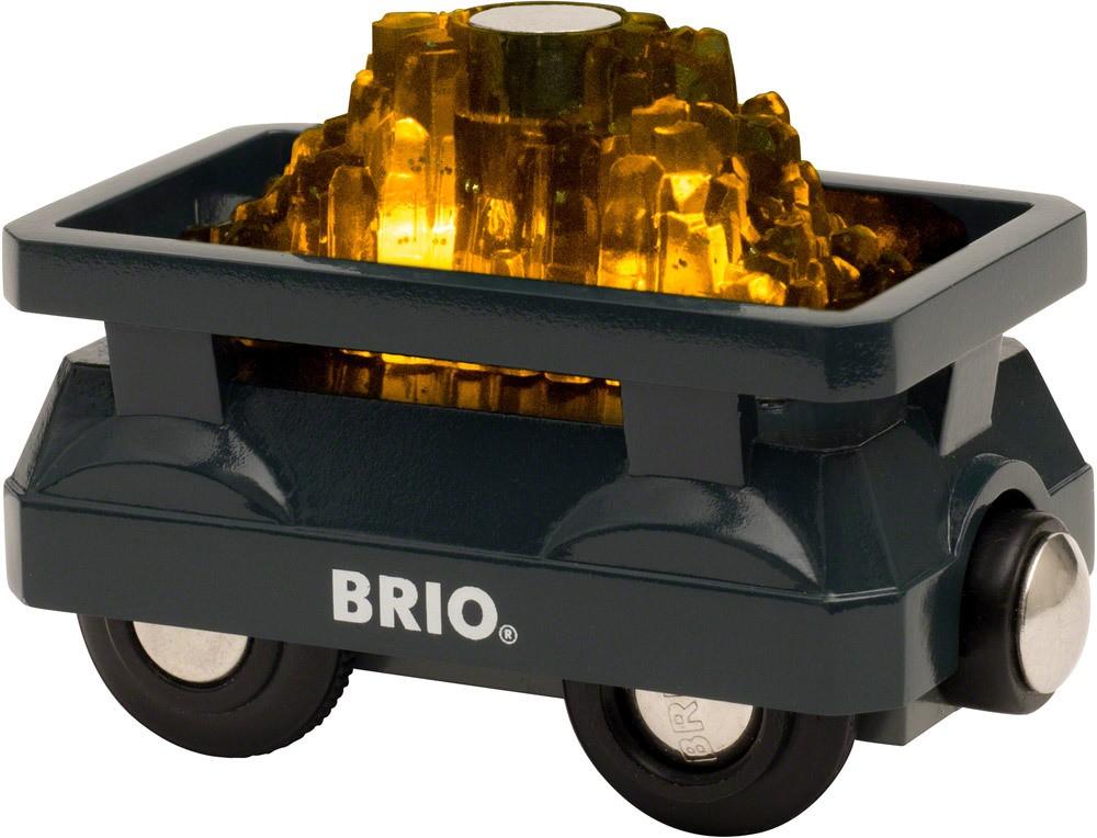 BRIO Goldwaggon mit Licht   Holzeisenbahn - Jetzt online kaufen